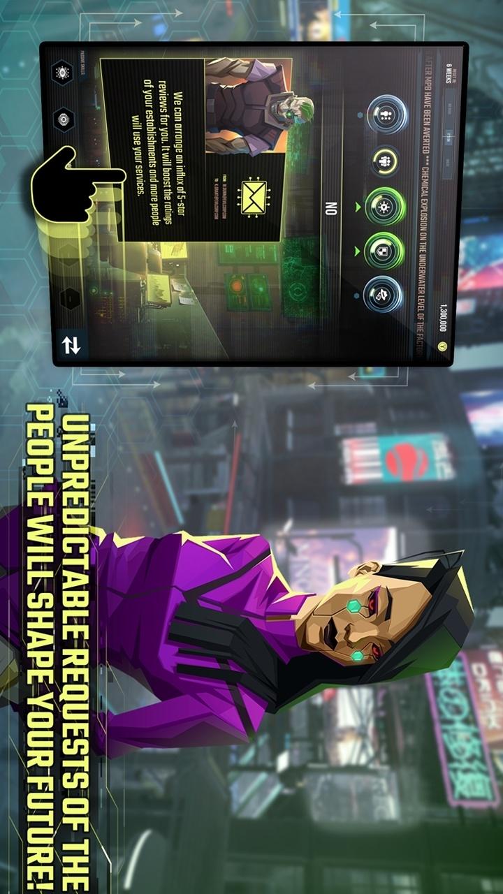 虛擬朋克世界紙牌免付費破解版游戲截圖