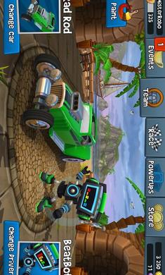 沙滩车竞速2破解版